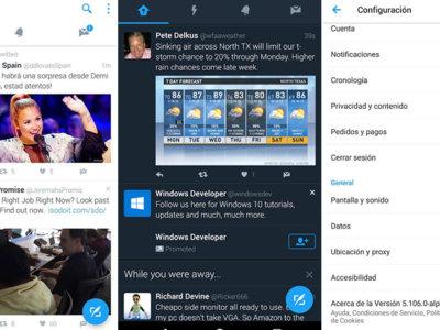 Twitter está probando un tema oscuro en su alpha