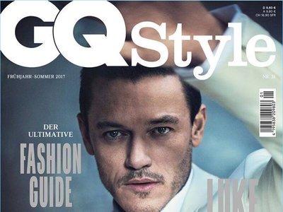 Más bello que bestia: así de guapo luce Luke Evans en la portada de GQ Style Alemania