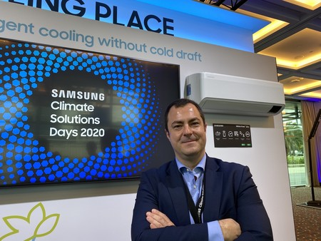 """La industria aún estudia alternativas al gas R32"", entrevista a Raúl Serradilla, Air Conditioning Manager en Samsung España"