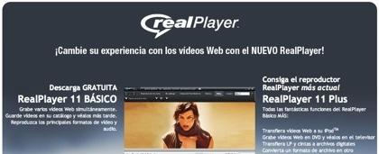 RealPlayer 11 en castellano disponible para descarga