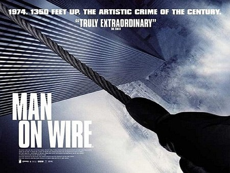 'Man on Wire', posters y trailer