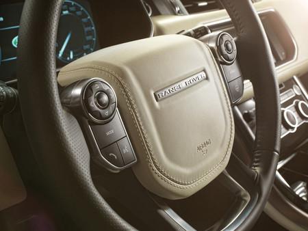 Range Rover Sport 2013, detalle del interior