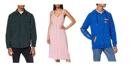 Chollos en tallas sueltas de vestidos, faldas o camisas de marcas como Tommy Hilfiger, Lee o Pepe Jeans disponibles en Amazon