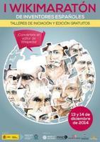 I Wikimaratón de inventores españoles