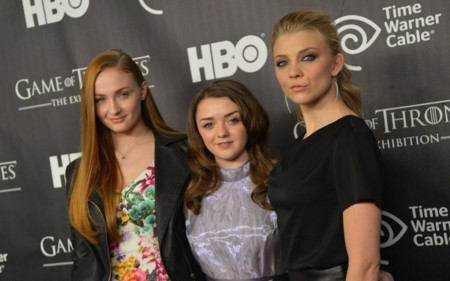 Sophie Turner Natalie Dormer Maisie Williams