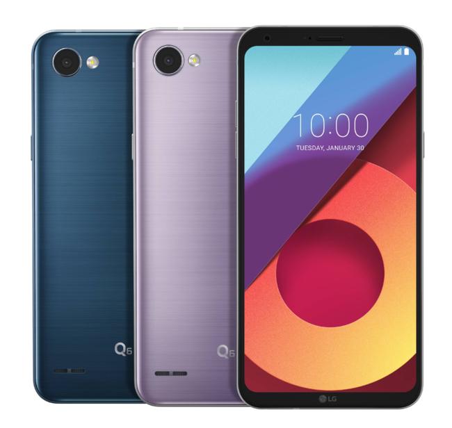 LG Q6 recientes colores