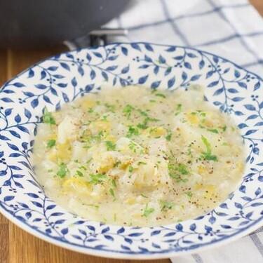 Receta de sopa a la parisiense en la olla express