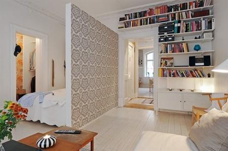 Casas que inspiran: aprovechar el espacio gracias a tabiques