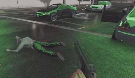 Un usuario modifica GTA Online para hacerlo FPS de zombis