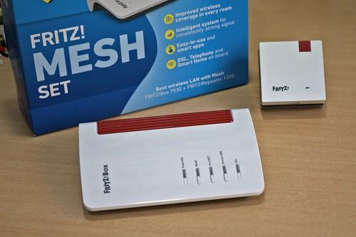 FRITZ! Mesh Set, análisis: gran cobertura y rendimiento mesh WiFi con extras únicos en el mercado