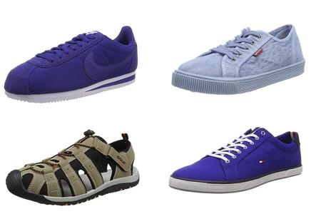 Puma, Levi's, Adidas, Nike, Tomy Hilfiger o New Balance: ofertas en tallas sueltas de zapatillas en Amazon