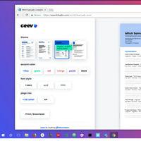 Ceev, la extensión para Chrome que convierte tu perfil de LinkedIn en un atractivo currículum de una página