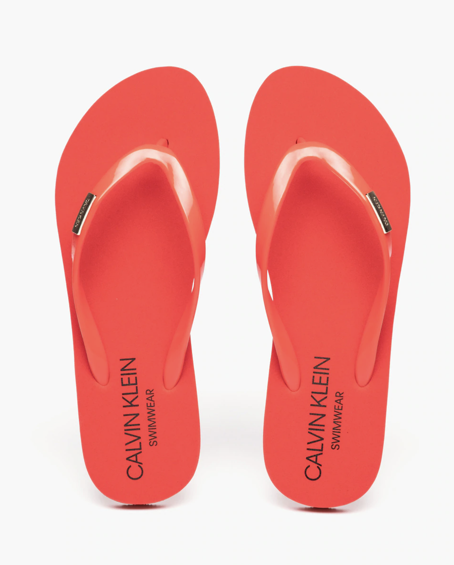Chanclas de dedo Calvin Klein Sandals lisa