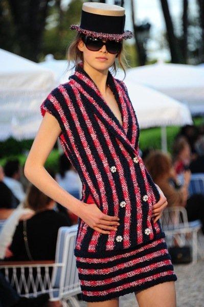 Colección Chanel Crucero 2012 tweed