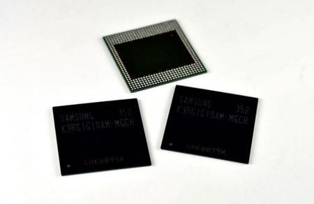 Samsung ya tiene listo los 4GB en RAM para sus próximos smartphones