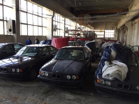 bmw barn find