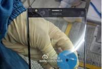 Éste podría ser el frontal del phablet de Nokia con Windows Phone