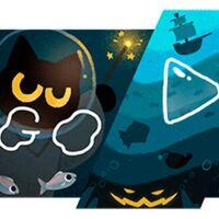 Nuevo juego de Google por Halloween: haz magia con el gato para derrotar a los fantasmas