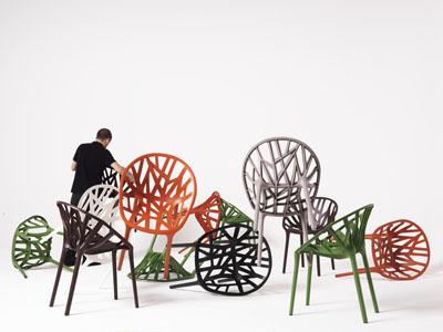 Vegetal, la nueva silla de Vitra