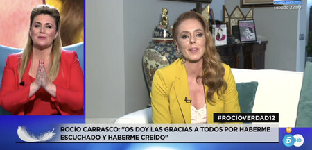 Rocío Carrasco anunció la semana pasada que volvería a sentarse en directo este 2 de junio para seguir contando la verdad