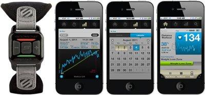 Scosche MyTrek, una muñequera para medir el ritmo cardíaco en el iPhone