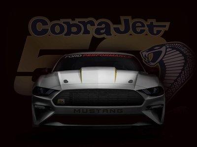 El nuevo Ford Mustang Cobra Jet devorará el 1/4 de milla en menos de 9 segundos