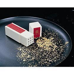 Oro en polvo para decorar tus platos