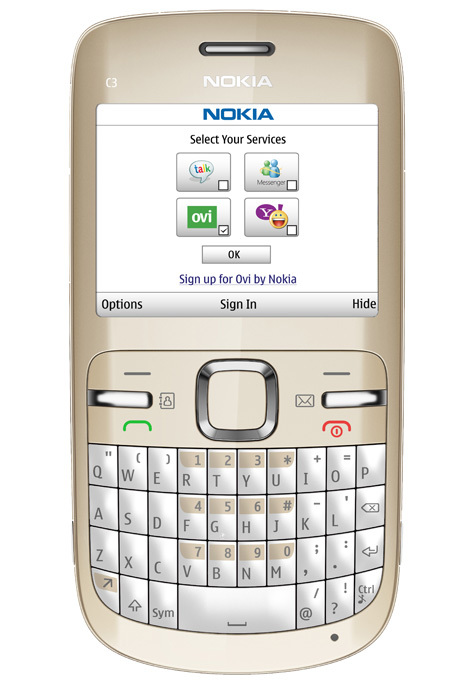 Foto de Nokia C3 (2/4)