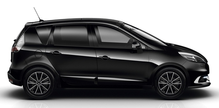 Renault Scénic 2012 negro lateral