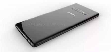 Samsung Galaxy S10 renders filtración