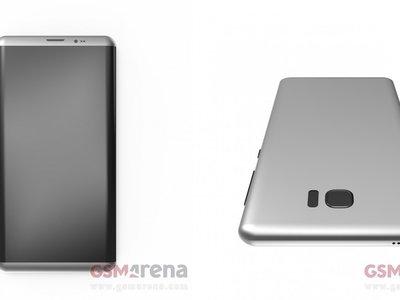 Se filtran imágenes de las supuestas fundas oficiales del Galaxy S8