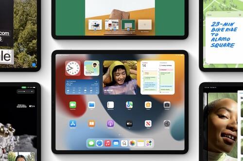 iPadOS 15 ya disponible: widgets en pantalla de inicio, notas rápidas y más