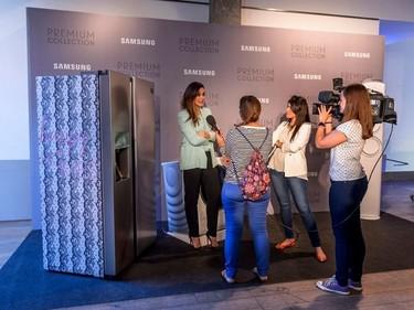 Samsung y Vicky Martín Berrocal presentan la nueva gama de electrodomésticos Premium Collection
