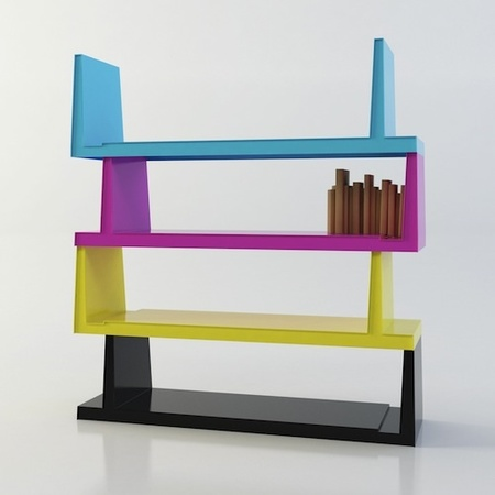 Steckbar, una bonita estantería de Ismail Özalbayrak