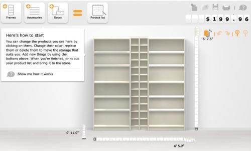 Construye tu propia estanter a con billy planner de ikea for Muebles billy ikea