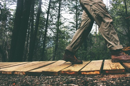 Caminar adelgazar el abdomen humano