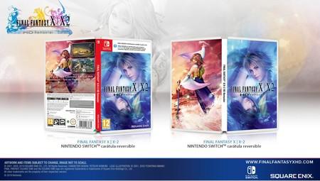 Final Fantasy X / X2 HD Remaster - Switch Box