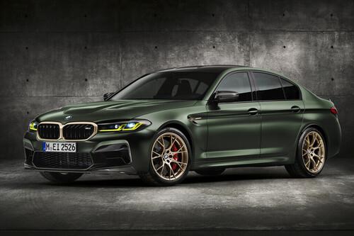 El BMW M5 CS es el M más poderoso de la historia, con 635 hp y 0 a 100 km/h en 3 segundos