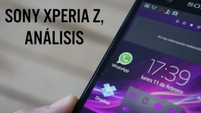 Sony Xperia Z, análisis