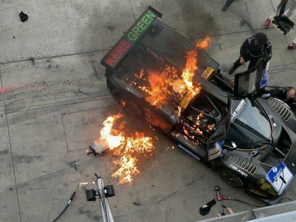 Ferrari P4/5 Ardiendo