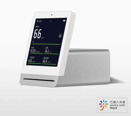 Qingping Air Detector: la estación meteorológica ideada por Xiaomi para el hogar basada en crowfunding