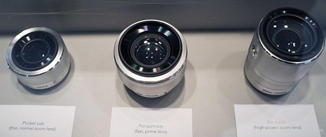 Objetivos prototipos Nikon 1