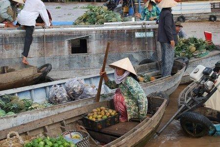 Vietnam: Mercados flotantes en Can Tho
