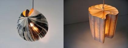 Más diseño ecológico: lámparas verdes