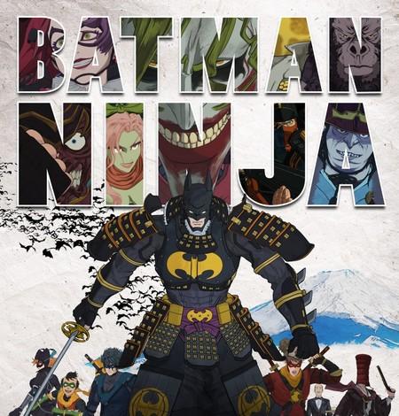 ¡OMG! mira el alucinante tráiler de Batman Ninja, ¿quién dijo que el Comic y el Anime no podían convivir?