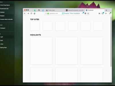 Ya puedes probar Photon, el nuevo diseño de Firefox, gracias a este mockup interactivo