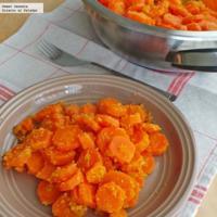 Zanahorias empanizadas con cereal. Receta