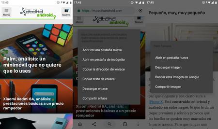 El manera oscuro en pruebas en Google™ Chrome™ Beta