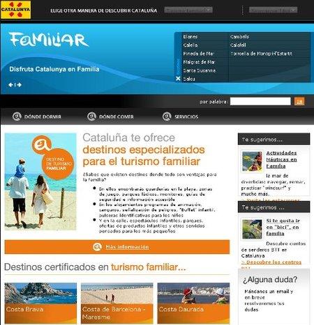 """Catalunya tiene destinos con """"certificado"""" de turismo familiar"""