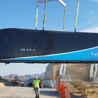 El Hyperloop One supera la primera prueba a escala completa, esto marcha